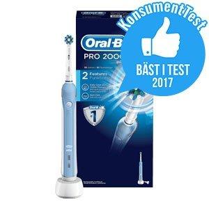 oral b eltandborste bäst i test