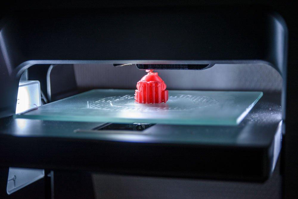 Test av Panospace 3D skrivare.